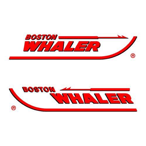 2 stickers boston whaler ref 2 partir de 5 10 - Housse capot moteur hors bord ...
