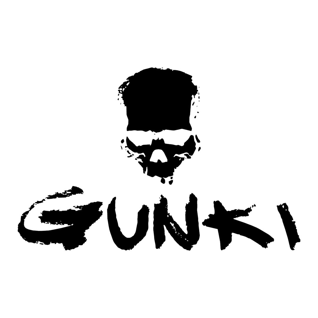 sticker gunki ref  marque de materiel peche autocollant sponsor stickerbateaufr
