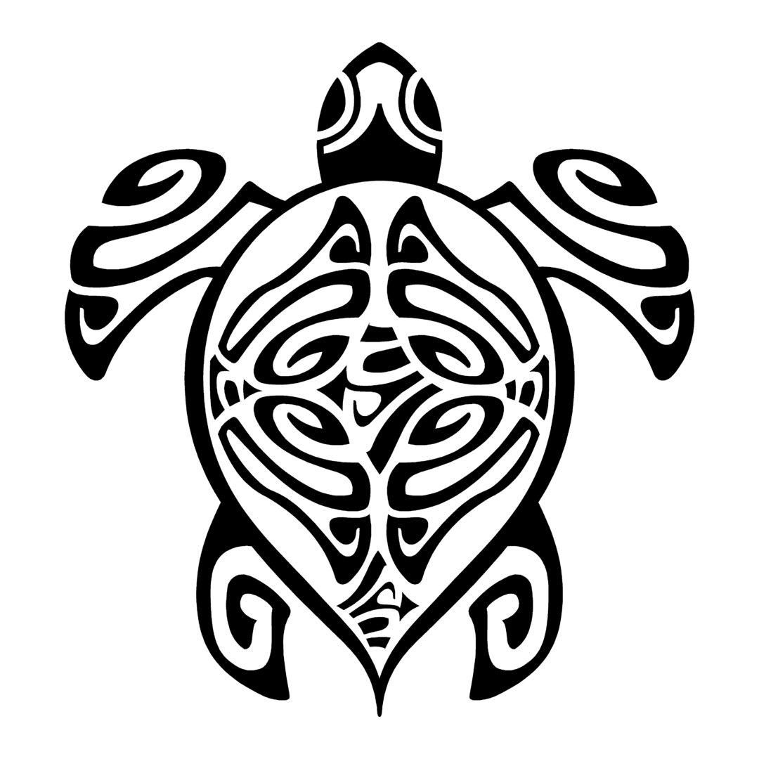 Sticker tortue marine ref 1 tribal bateau autocollant jet ski - Voiture tortue ...