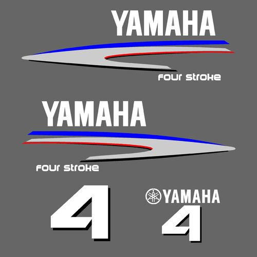 1 kit stickers YAMAHA 4cv serie 2