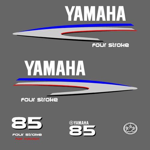 1 kit stickers YAMAHA 85cv serie 2