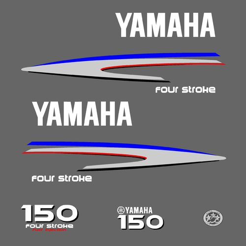 1 kit stickers YAMAHA 150cv serie 2