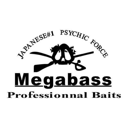sticker MEGABASS ref 3