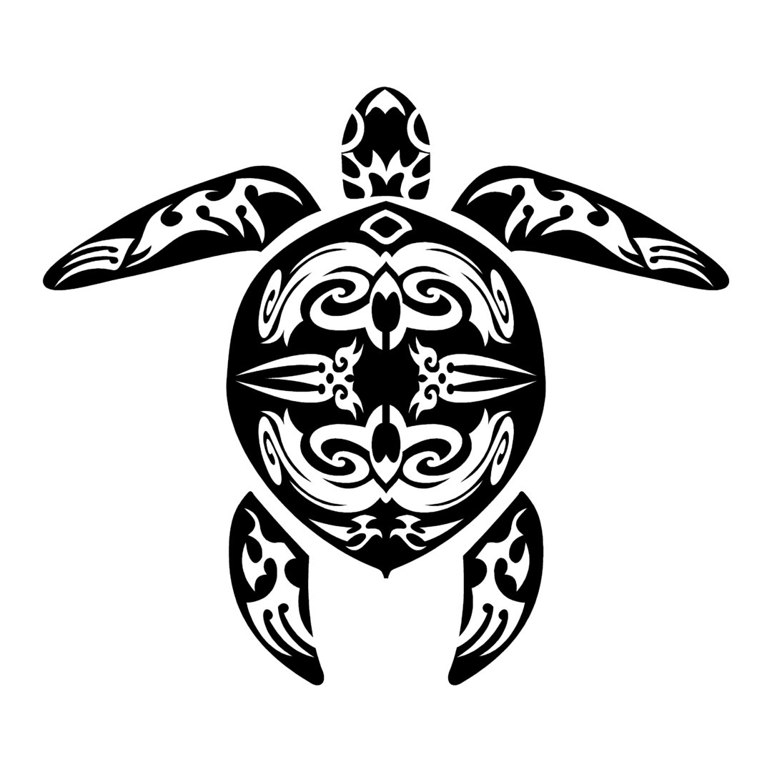 Sticker tortue marine ref 2 tribal bateau autocollant jet ski - Voiture tortue ...