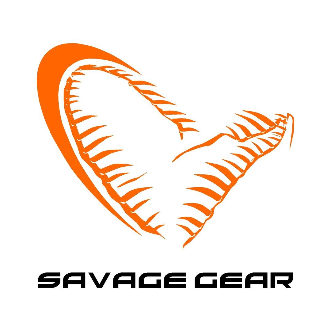 un sticker savage gear ref 4 marque de p che autocollant sponsor. Black Bedroom Furniture Sets. Home Design Ideas
