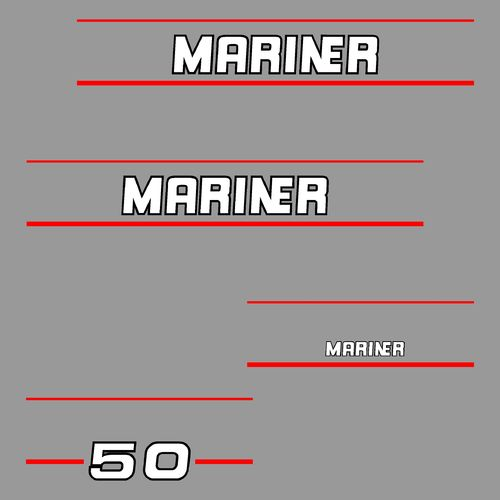 1 kit stickers MARINER 50cv serie 2