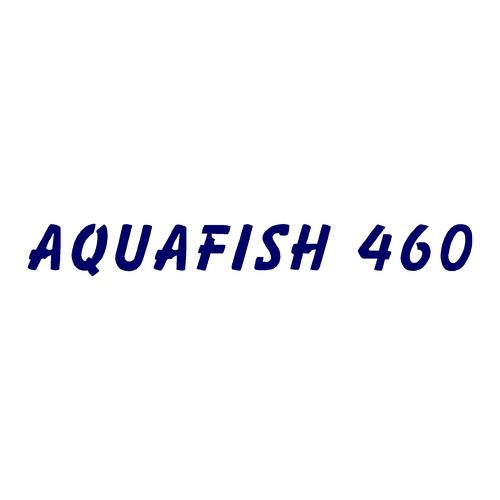 1 sticker AQUAMAR ref 4 AQUAFISH 460