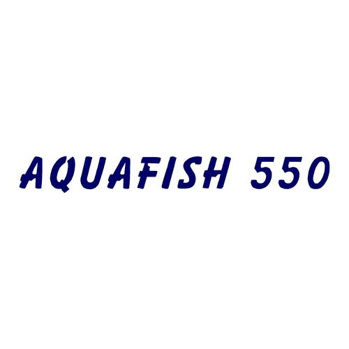 1 sticker AQUAMAR ref 5 AQUAFISH 550