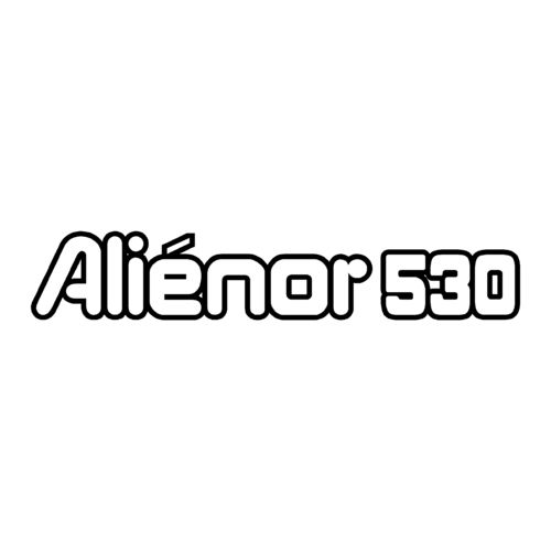 1 sticker OCQUETEAU ref 11 ALIENOR 530