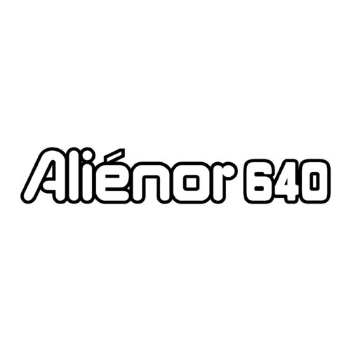1 sticker OCQUETEAU ref 17 ALIENOR 640