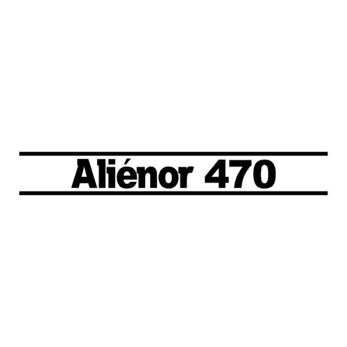 1 sticker OCQUETEAU ref 19 ALIENOR 470