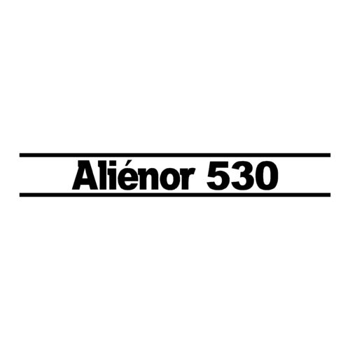 1 sticker OCQUETEAU ref 21 ALIENOR 530