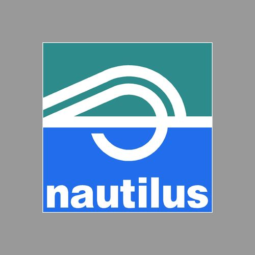 1 sticker NAUTILUS ref 1