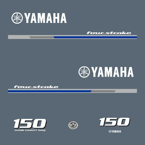 1 kit stickers YAMAHA 150cv serie 1
