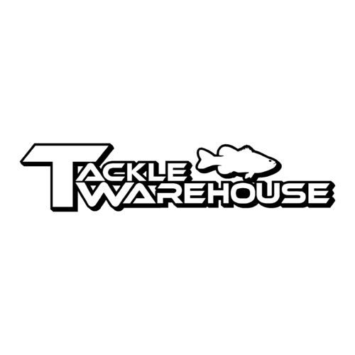 sticker TACKLE WAREHOUSE ref 2