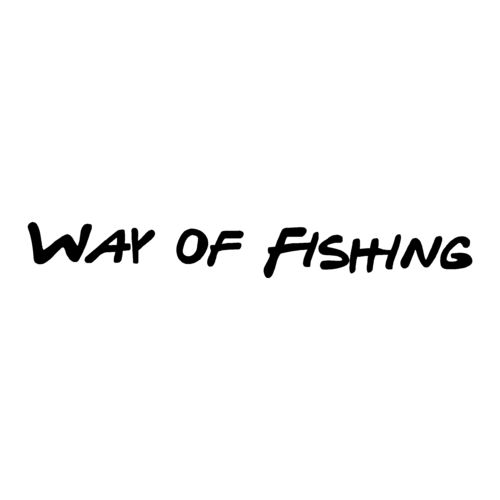 sticker WAY OF FISHING ref 1