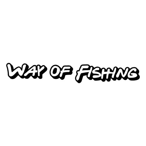 sticker WAY OF FISHING ref 2