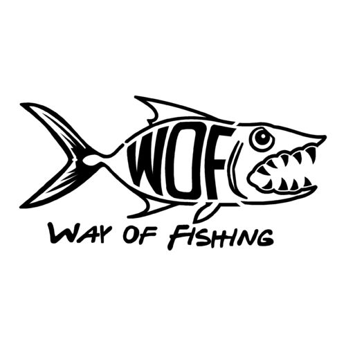 sticker WAY OF FISHING ref 4