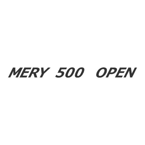 Sticker MERY NAUTIC 500 OPEN ref 7