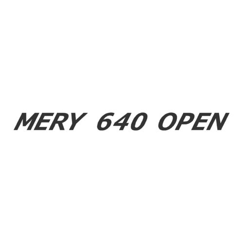 Sticker MERY NAUTIC 640 OPEN ref 14