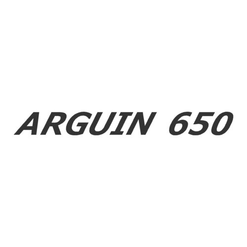 Sticker MERY NAUTIC ARGUIN 650 ref 15